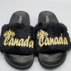 Custom fur slides